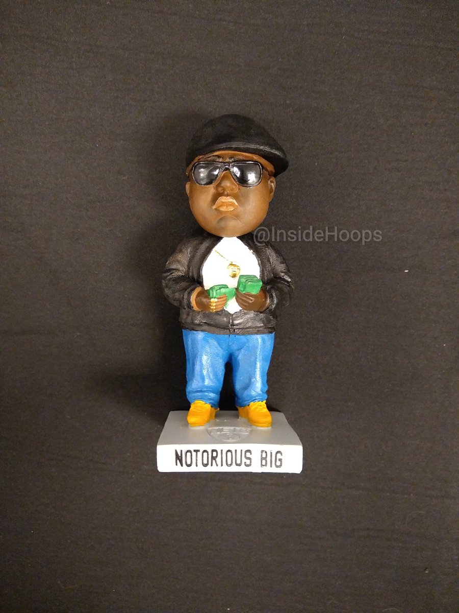 05fdf65ed It s Biggie Smalls bobblehead night here in Brooklyn for Hornets vs Nets  game.  NotoriousBIG