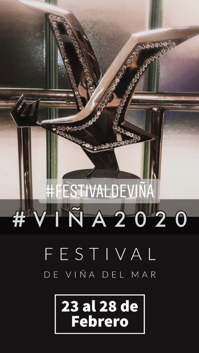 Festival De ViñA 2020 Virginia Reginato on Twitter: