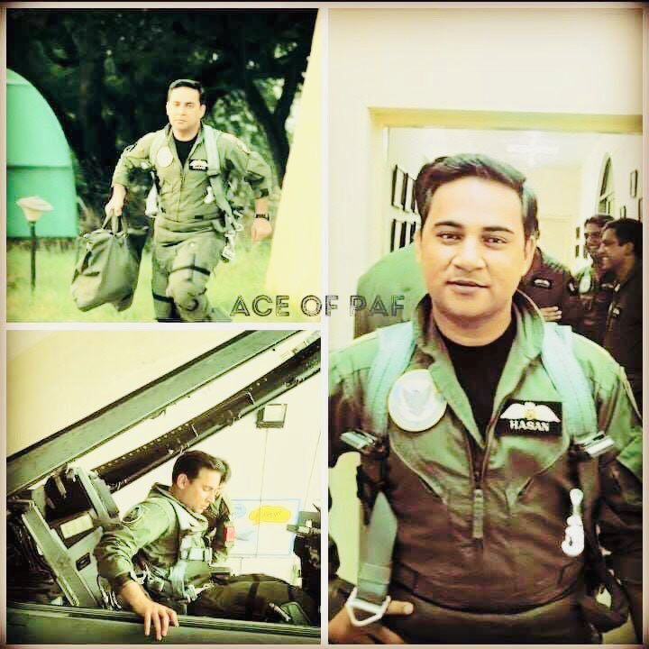 The Brave son of soil ; The pride of 200 Million Pakistanis  #SquadronLeader Hassan Siddiqui You've told the world that Airspace belongs to Men of #PakistanAirForce 🛩 🇵🇰 May Allah keep you flying high to protect the Motherland 💚 #MilitaryAwardForHassan #PakistanZindabad