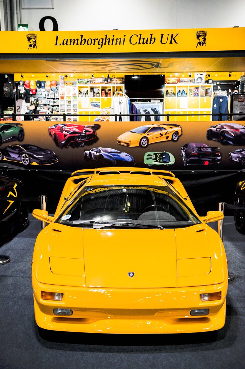 The London Classic Car Show On Twitter Is That A Lamborghini