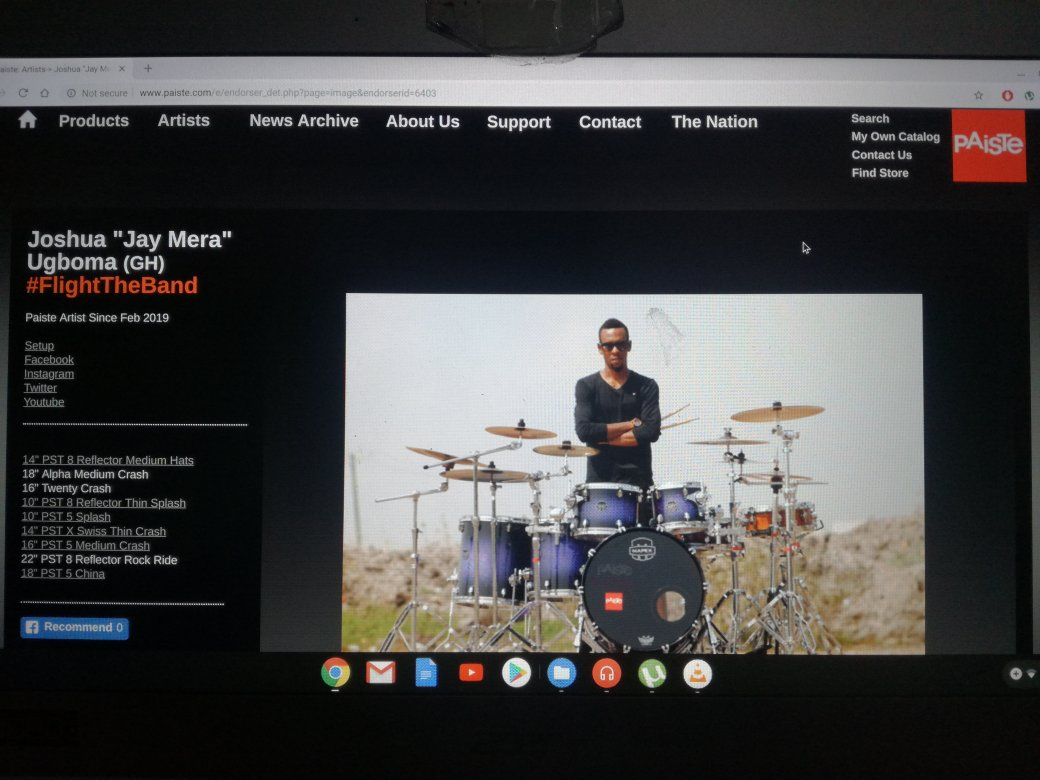 This is to inform all my music supporters that I'm OFFICIALLY joined to @PaisteNation as a Drummer/Artist! I'm so excited about this Journey, and thankful to all. Get ready to rock with me on this new Adventure!  #PaisteCymbals #PaisteNation #JayMeraMusic