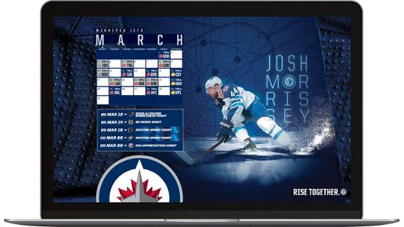Winnipeg Jets On Twitter New Month New Wallpapers Refresh Your