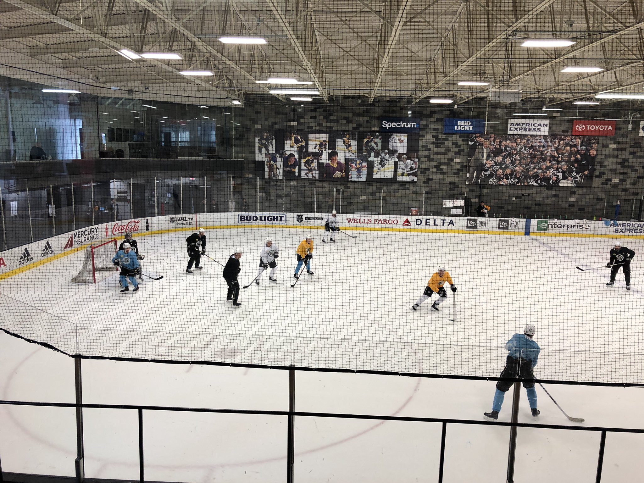 Toyota Sports Performance Center On Twitter Lakings On The Ice For Practice