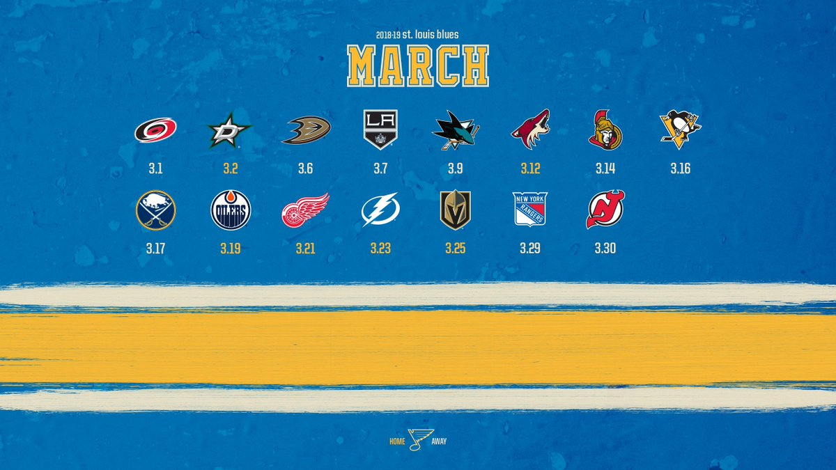 St Louis Blues On Twitter March Wallpapers Are Here Stlblues