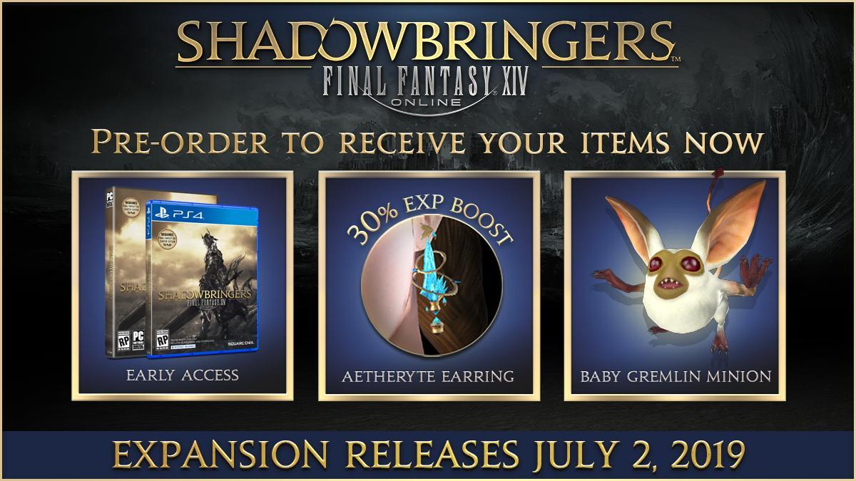 ffxiv shadowbringers collectors edition canada