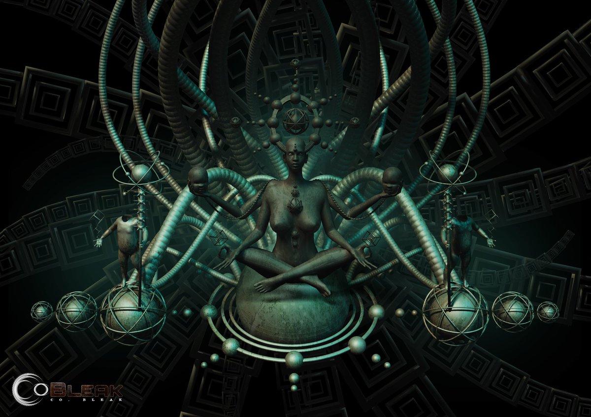 Co_Bleak_Art New Dimension Goddess #digitalart #art #artwork