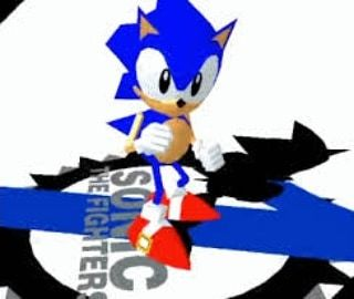 I am now officially playing VRChat! As Sonic the Hedgehog From Sonic
