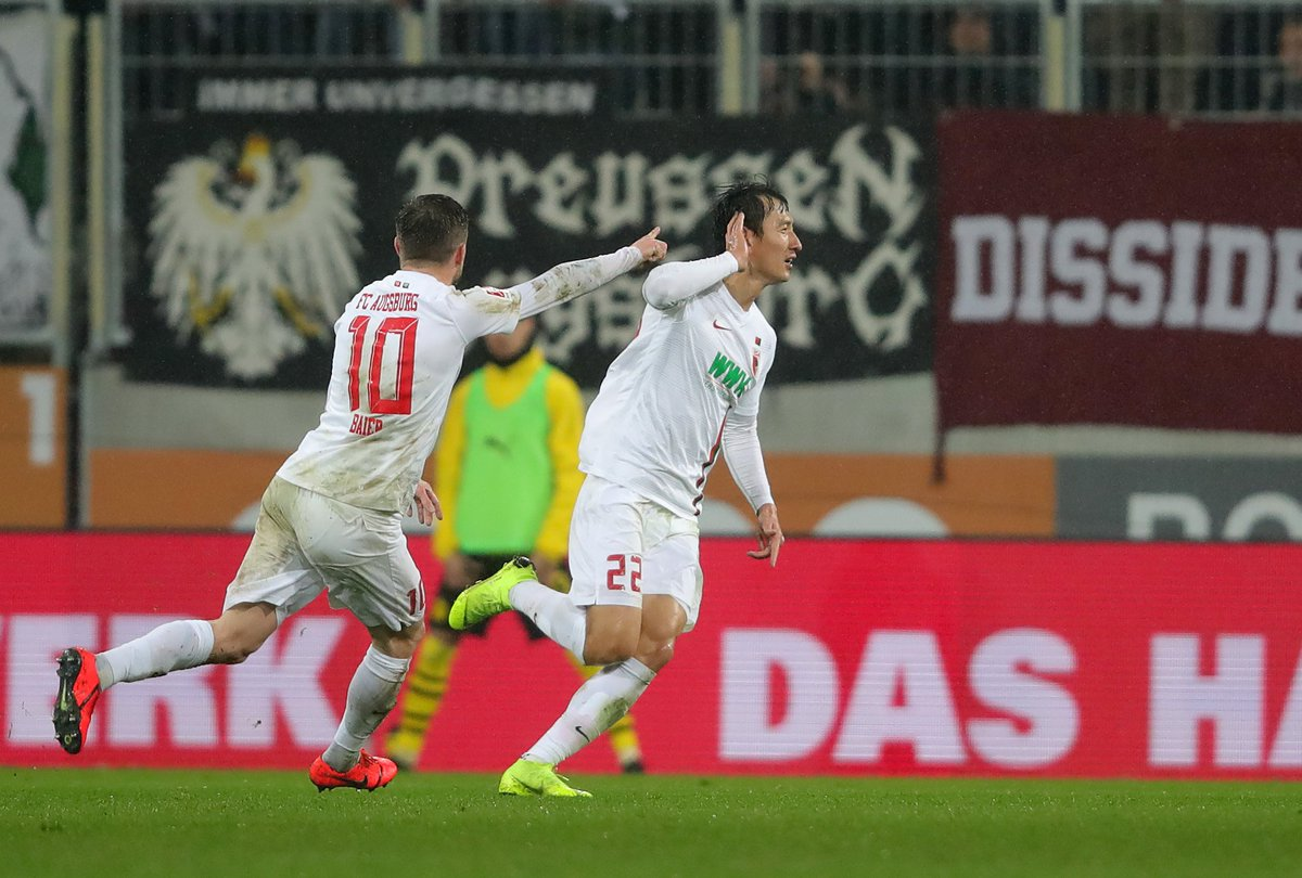 Аугсбург - Боруссия Дортмунд 2:1. Корейский удар по чемпионским амбициям - изображение 2