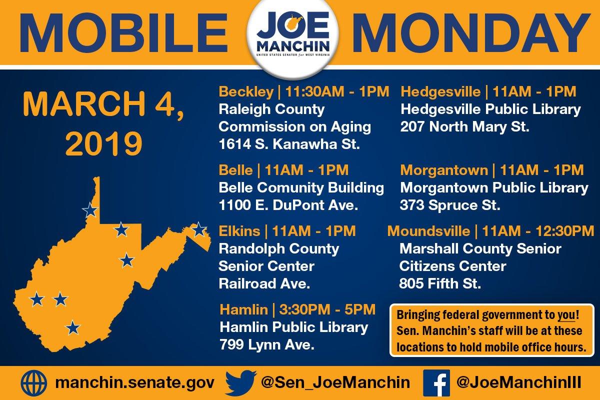 Senator Joe Manchin on Twitter: