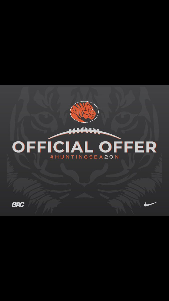 I'm very thankful and honored to announced I have received an opportunity to play football at east central university!! Thank you @Coach_AlJohnson