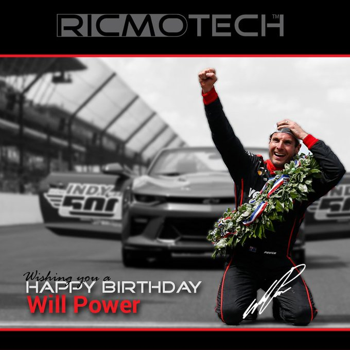 Ricmotech wishes to Will Power a very Happy Birthday!