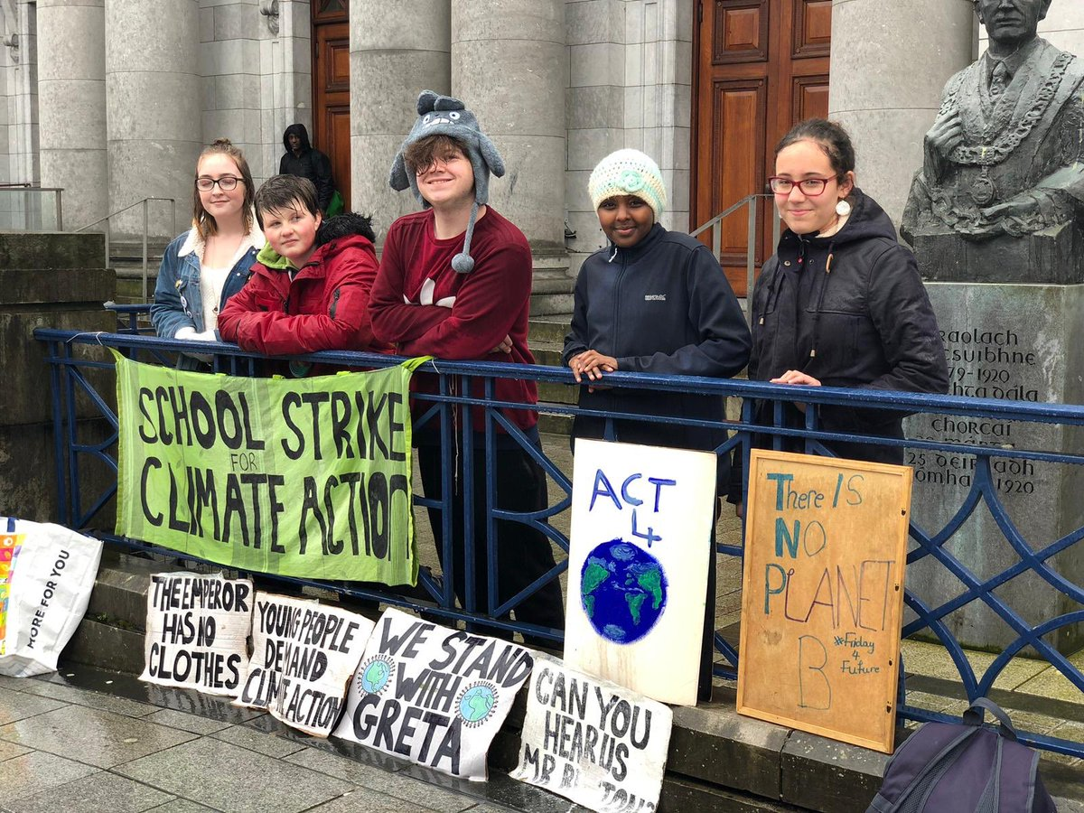 Image result for FridaysForFuture movement