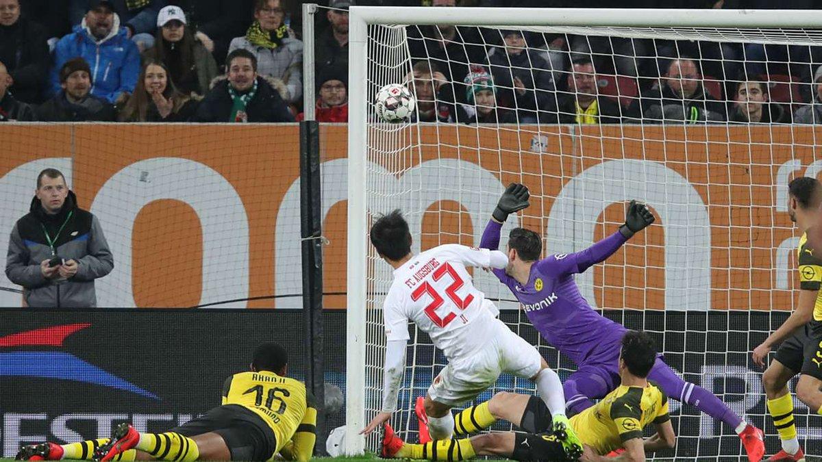 Video: Augsburg vs Borussia Dortmund