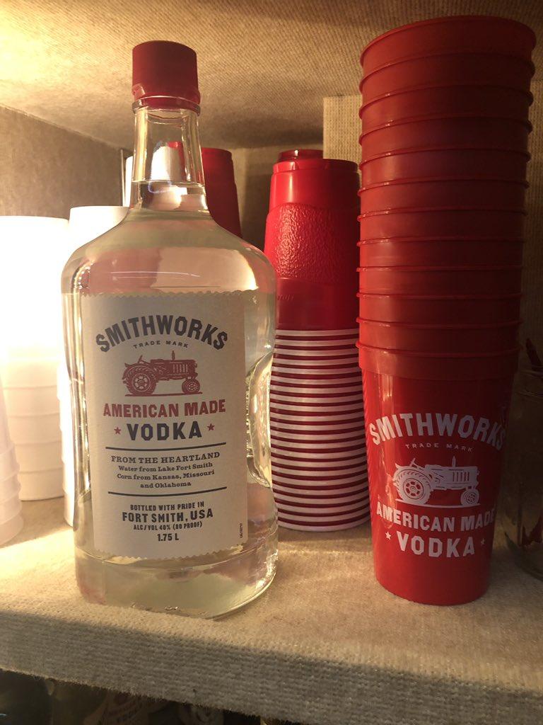 So proud of the vodka you've become!!! Happy third birthday!!! @SmithworksVodka #SmithworksThirdBirthday https://t.co/KXoyYLjQHt