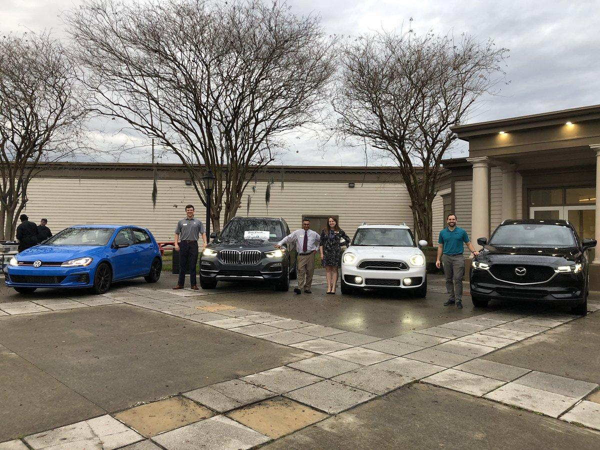 Brian Bush, Tom Bush Mazda, Tom Bush Volkswagen and 6 others