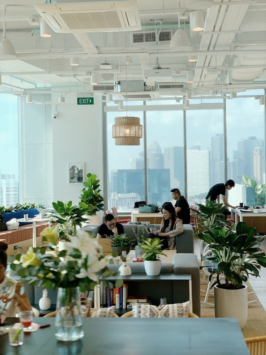 We welcome our WeWork members to our 10th Singapore location - WeWork 380 Jalan Besar. It comes with plenty of breakout areas for our members to collaborate and make valuable connections. This location has a patio with amazing views, a rooftop pool and a gym #thewecompany #wework https://t.co/5DLhBAEsQc