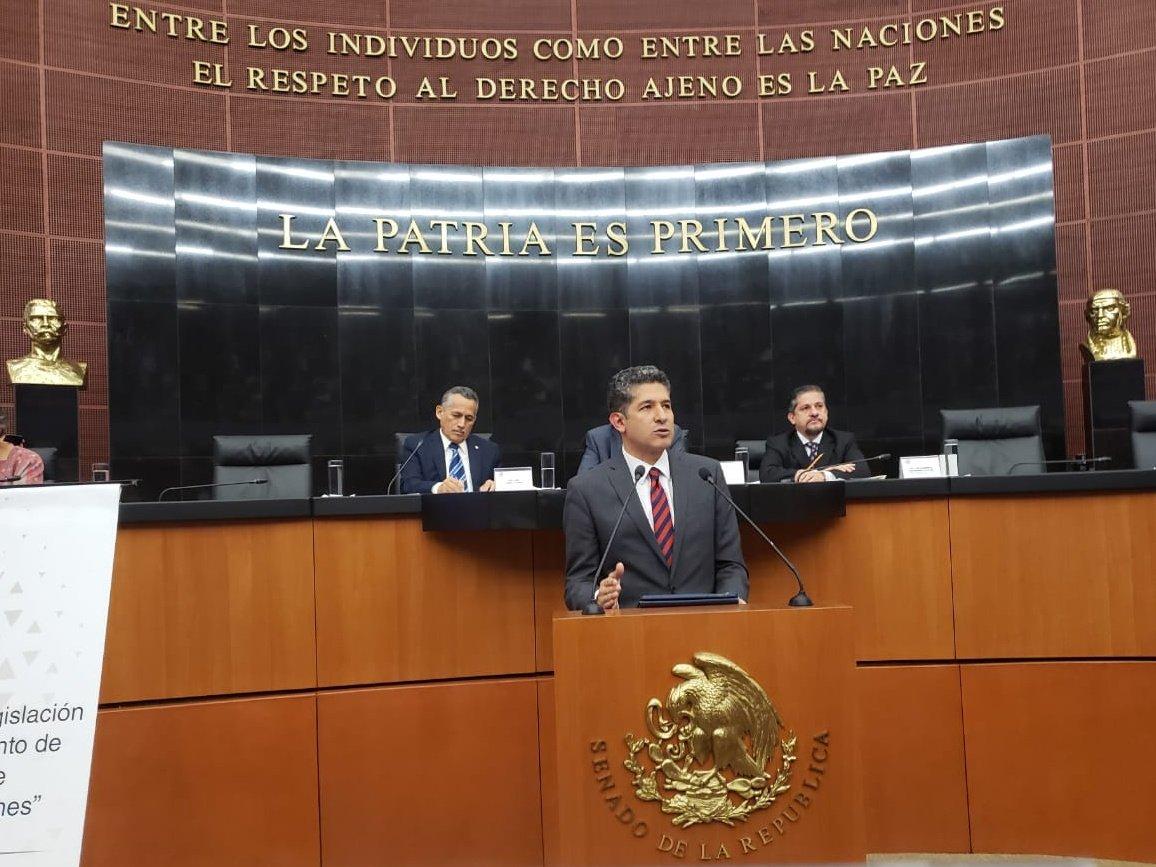 Hoy tuve la oportunidad de exponer la visión educativa de Jalisco en la sede del @senadomexicano en el #ForoDeEducación sobre la discusión de la reforma educativa. Está postura se derivada del trabajo que hemos hecho juntos en nuestro proyecto #ReCreaJalisco.