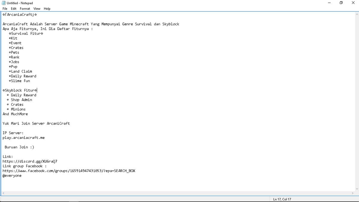 server cracked minecraft indonesia
