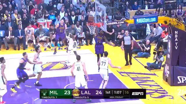 Image for the Tweet beginning: Brandon Ingram with the move