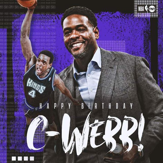 Join us in wishing Chris Webber a Happy Birthday!