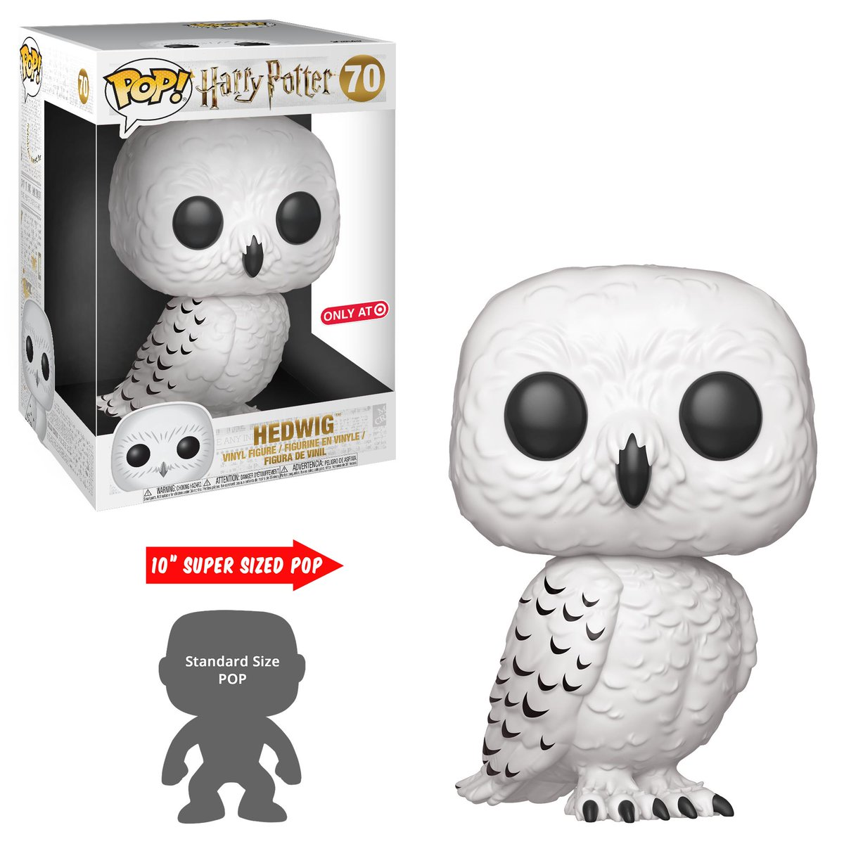"""RT & follow @OriginalFunko for a chance to win a @Target Exclusive 10"""" Hedwig Pop! #HarryPotter"""