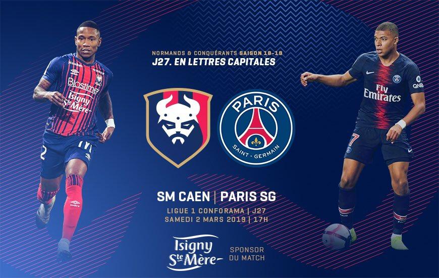 [27e journée de L1] SM Caen 1-2 Paris SG D0o_W5KW0AAIZFn