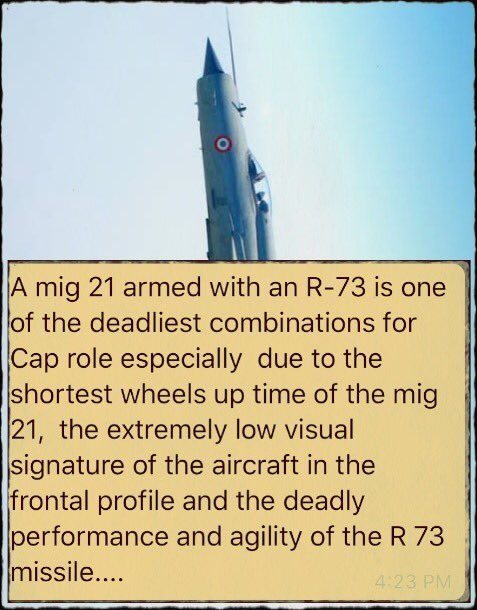 MiG-21 Bison shoots down F-16 in Kashmir - Page 2 D0op9S1WkAAUBr4