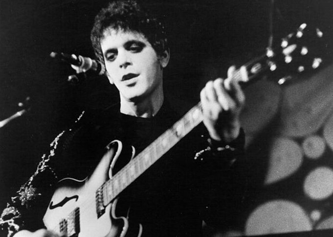 Happy birthday Lou Reed. Born on this day in 1942