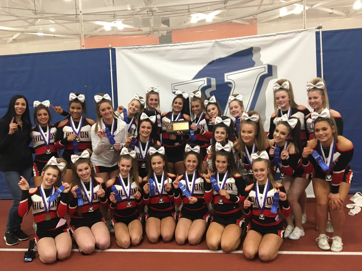 Good luck @Hilton_Cheer  at @nysphsaa Cheer States today at RIT. #GoCadets