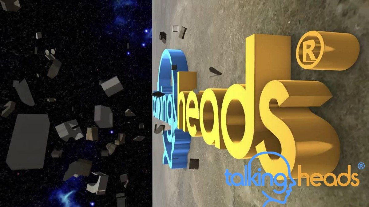 TalkingHeadsVid 3D Animation Website Video created in After Effects