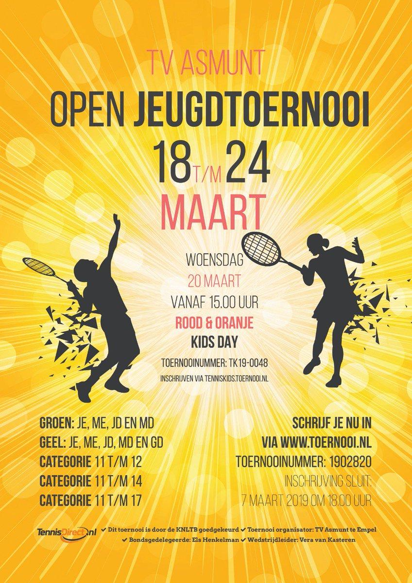 Open Jeugdtoernooi At Ojttvasmunt Twitter
