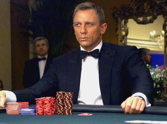 Black Tie Bond. Happy birthday Daniel Craig!
