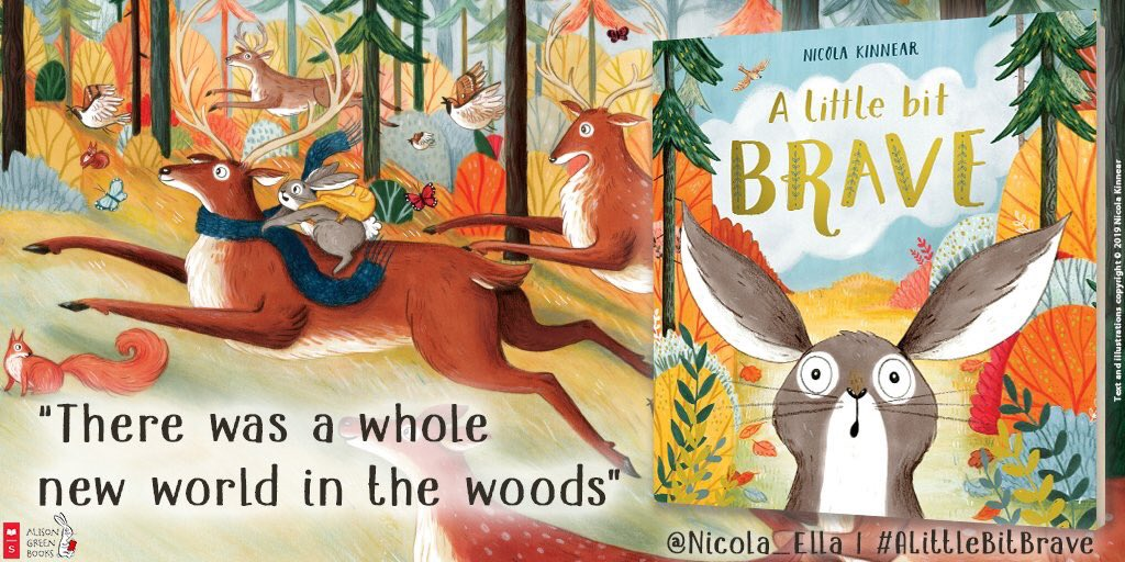 ALittleBitBrave is a funny, inspiring story by @Nicola_Ella