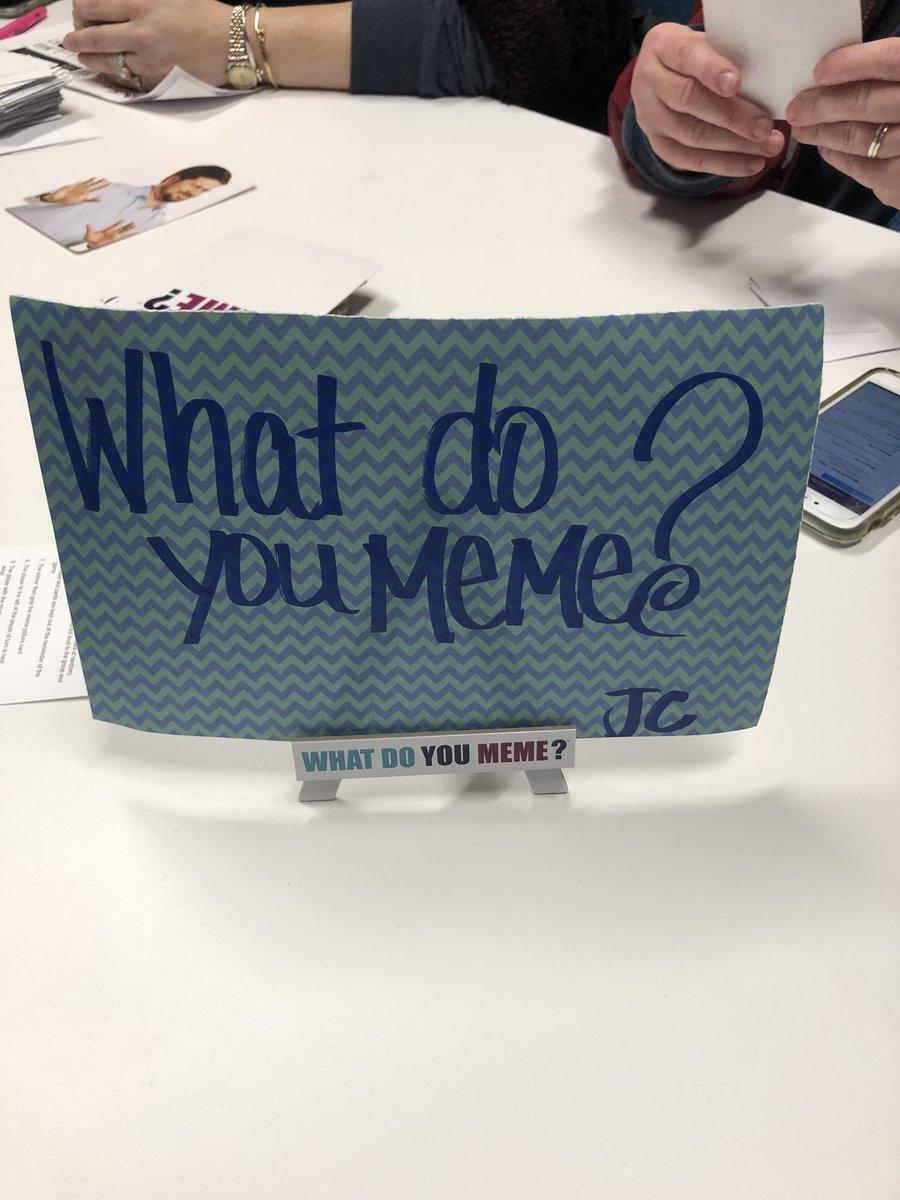 #DestinationPD What do you meme? @wacoraider @MrsD_CS @jenkscsis #ourWHY