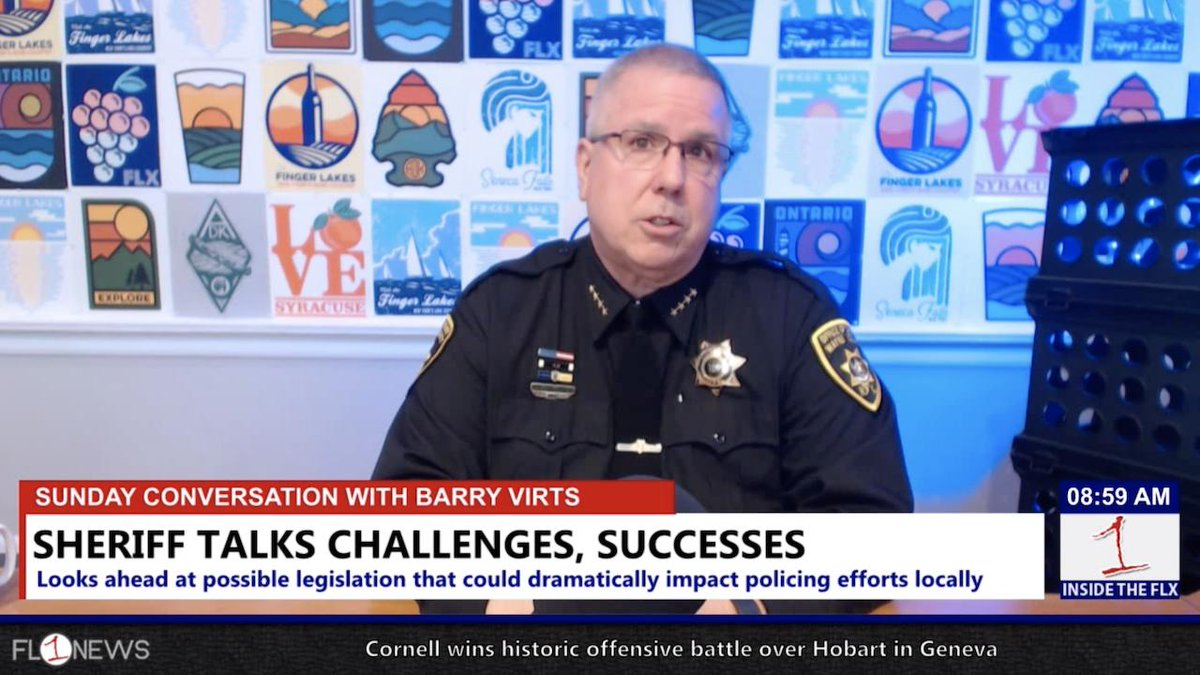 Wayne County Sheriff Barry Virts on contract negotiations, shortages in law enforcement, and marijuana legalization .::. Sunday Conversation 3/3/19