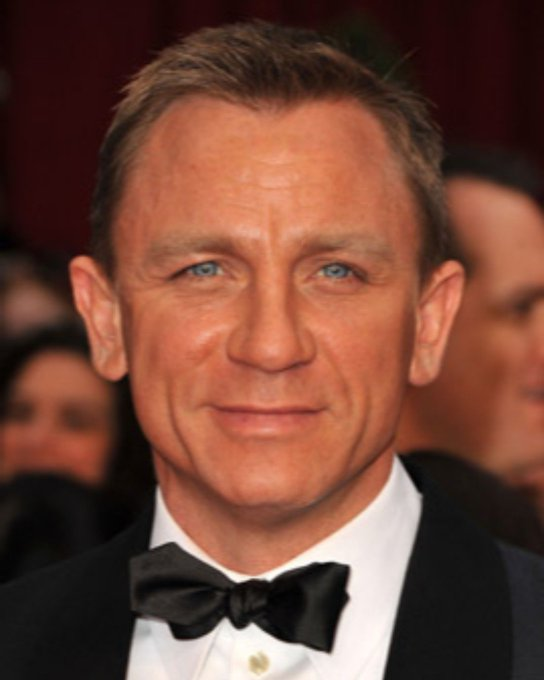 Happy Birthday to Daniel Craig aka James Bond!