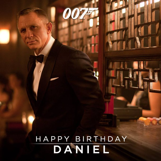 """Mr. Bond, we\ve been expecting you.\""  Happy 51st Birthday to the second longest James Bond, Daniel Craig!"