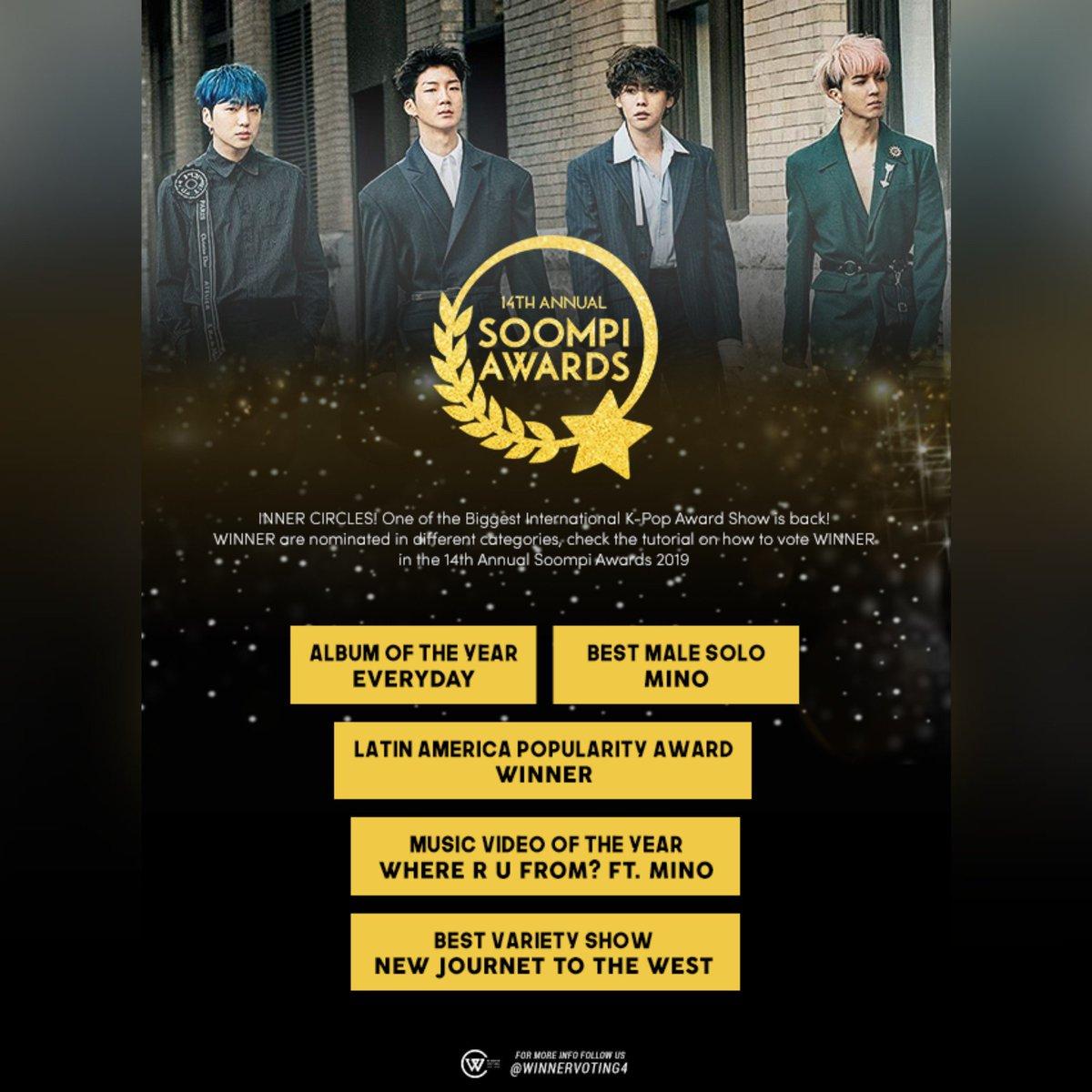 Soompi Awards 2019 Winners