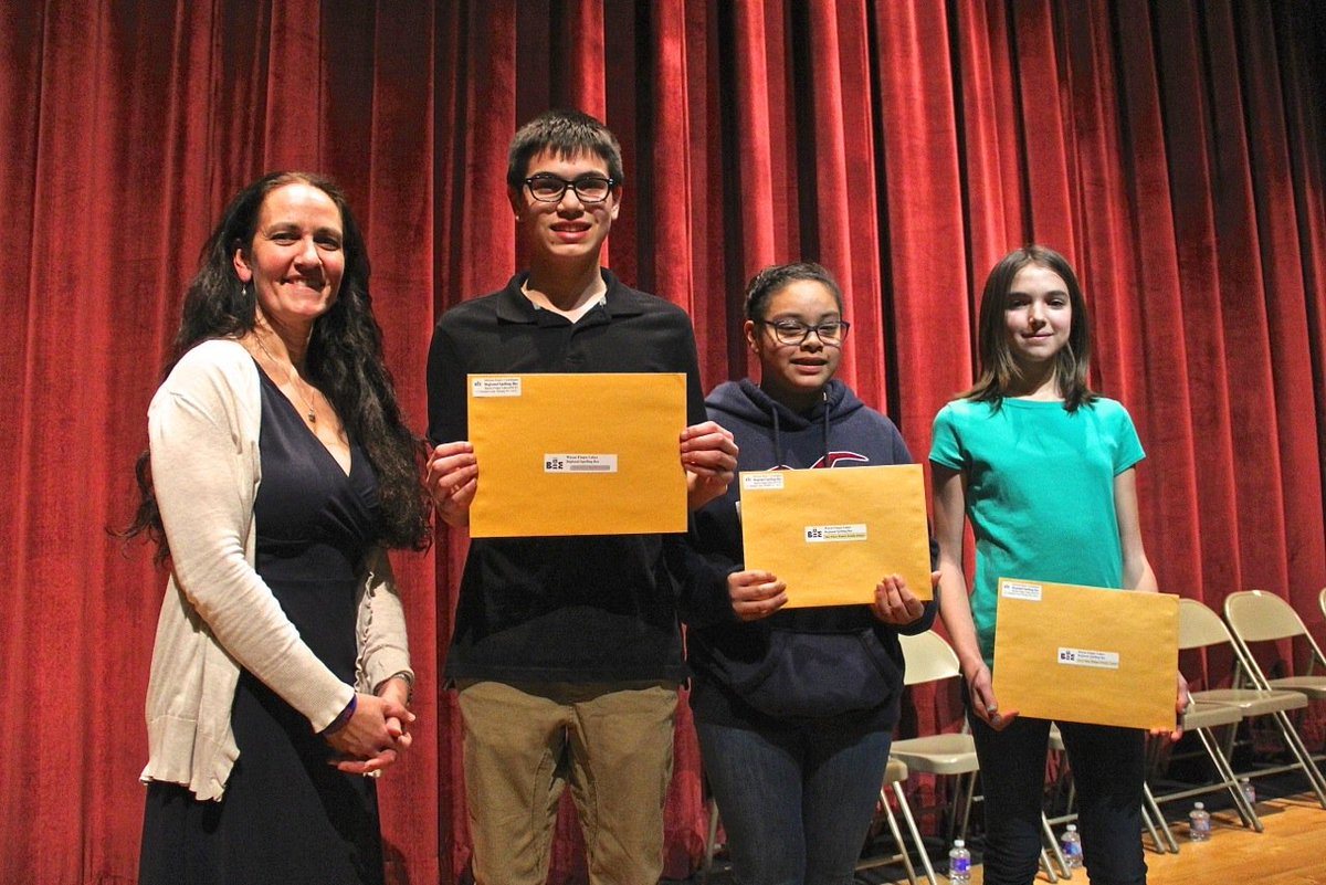 Spelling Bee held at Newark Middle School