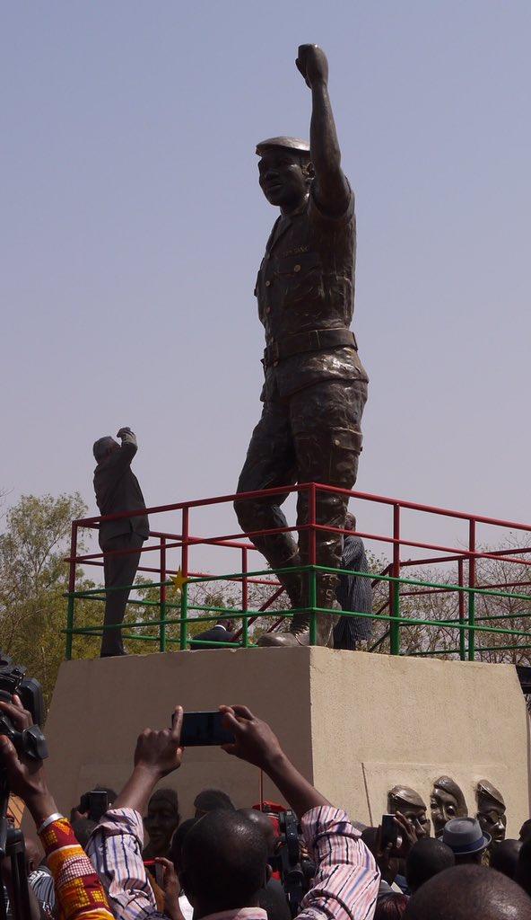 Burkina Faso : Polémique autour d'une statue géante de Thomas Sankara inaugurée