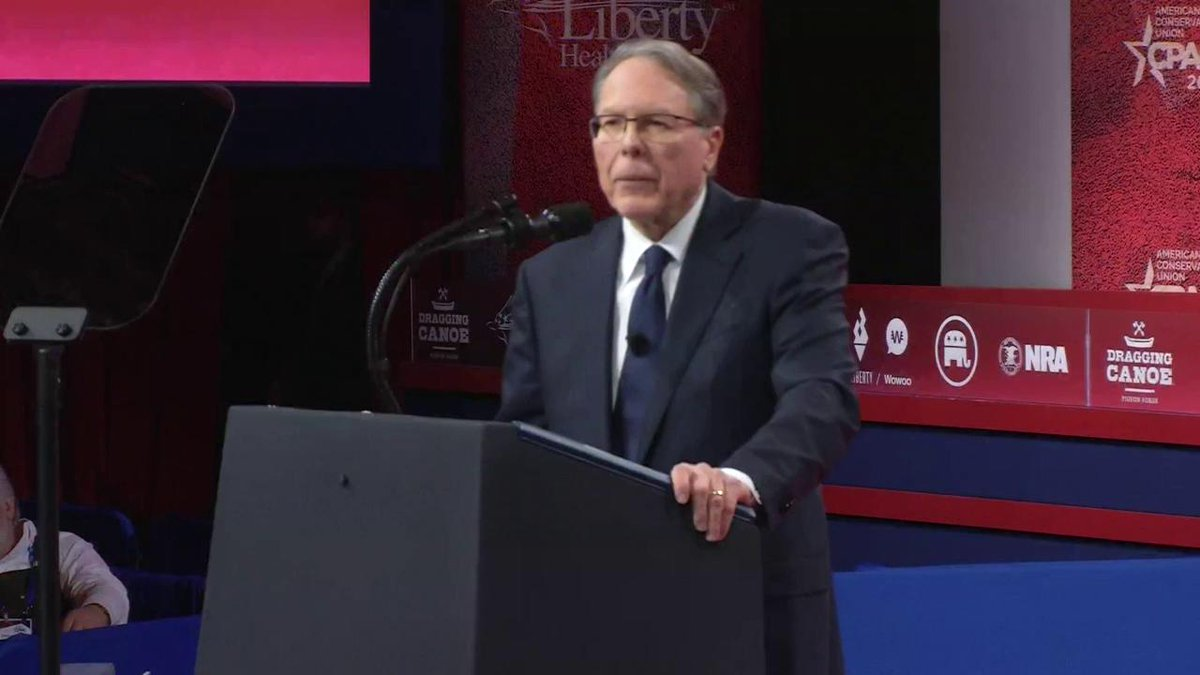 .@NRA's Wayne LaPierre on the First and Second Amendment. #CPAC2019 #WhatMakesAmericaGreat