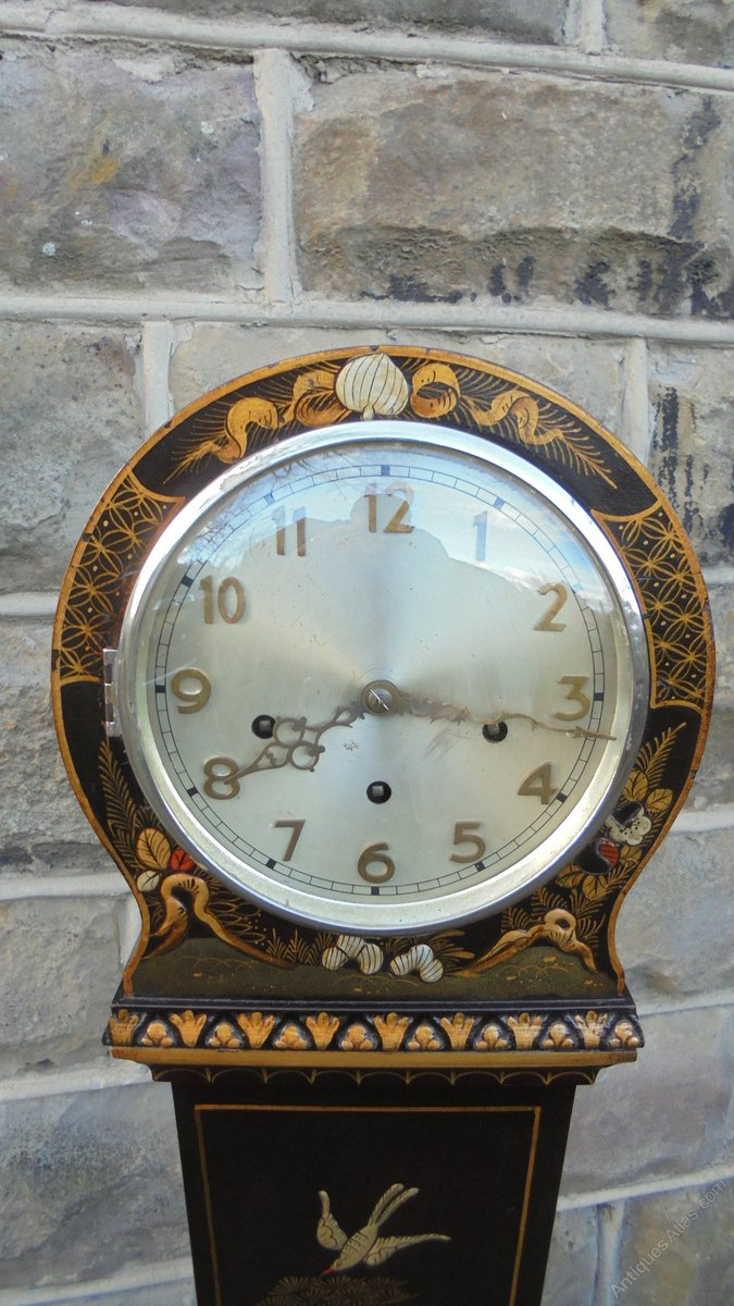 fdb4bf3b168 ... Westminster chime. https   www.antiques-atlas.com antique antique lacquered chinoiserie granddaughter clock as263a1390  …pic.twitter.com fVzBMdqkY8