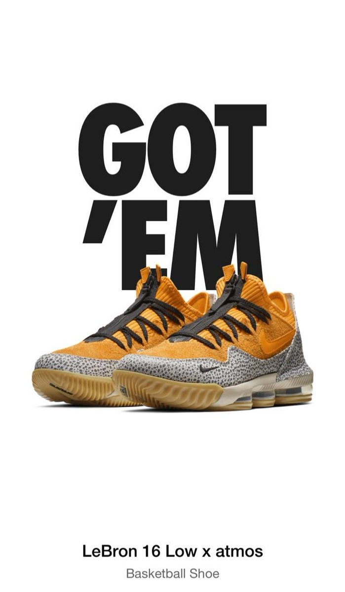 ce5b1436ba83 ... offers  nike  LeBron  LeBronJames  lebrond16  atmos  nikexatmos   lebronsafari  nikesafari  safari  sneakers  sneakerhead  sneakerplug  rt   hypebeast ...
