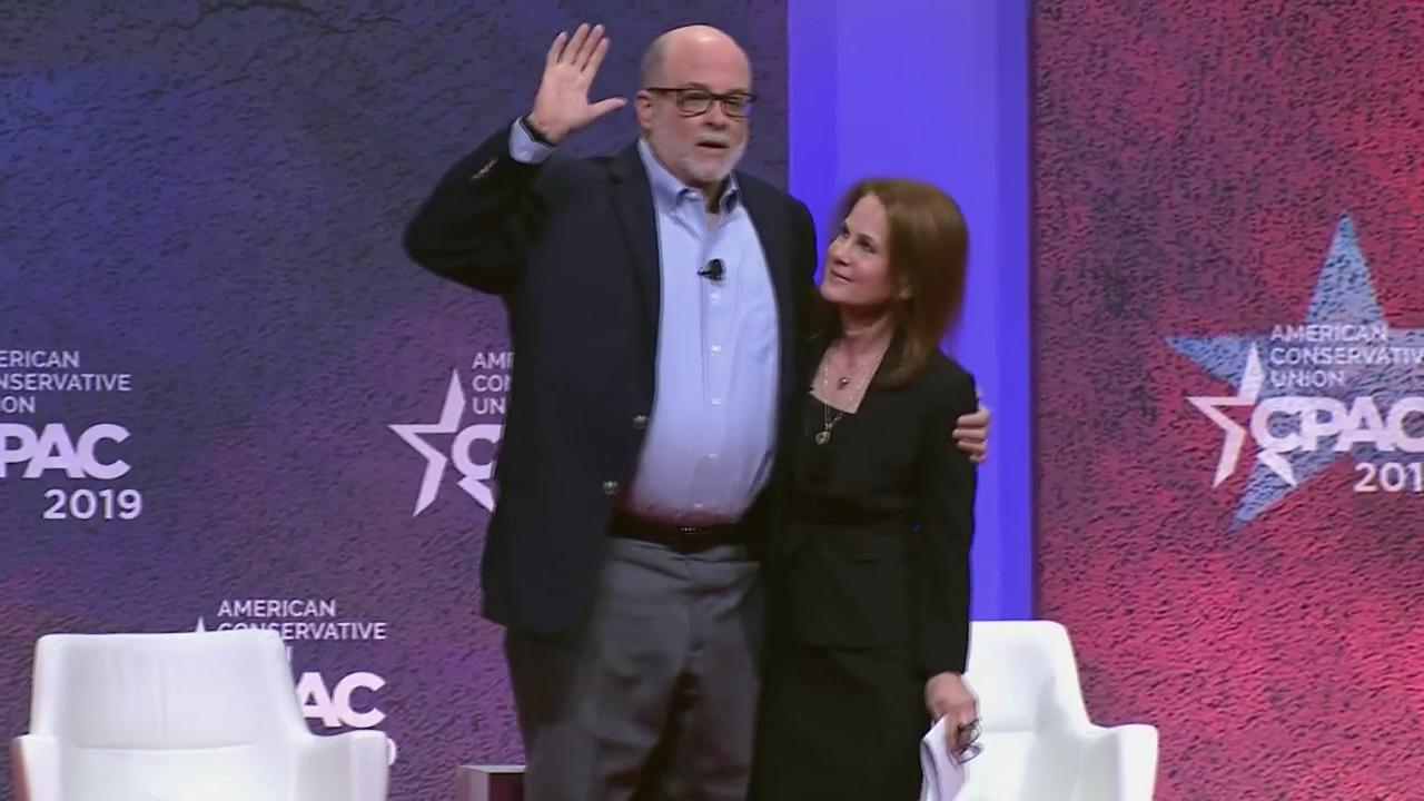 """""""We stand with you"""" @marklevinshow's message for President @realDonaldTrump. #CPAC2019 #WhatMakesAmericaGreat https://t.co/V0QjsOQ353"""