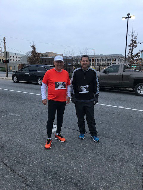 Little Rock 10K-A little cool early but turned out perfect.