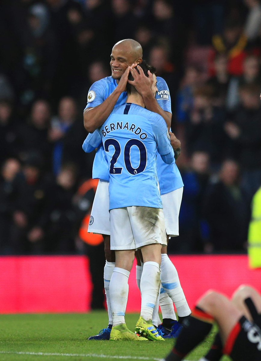 Tough game and a very important win!! 🔵🔵 @ManCity