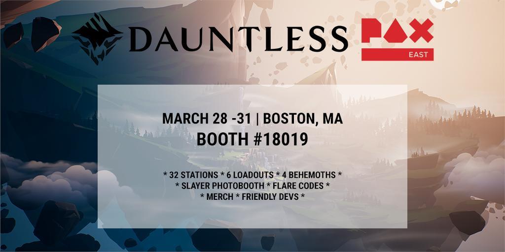 Dauntless on Twitter: