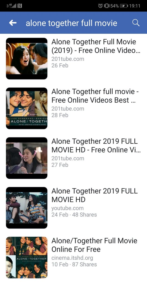 Alone Together Full Movie Online