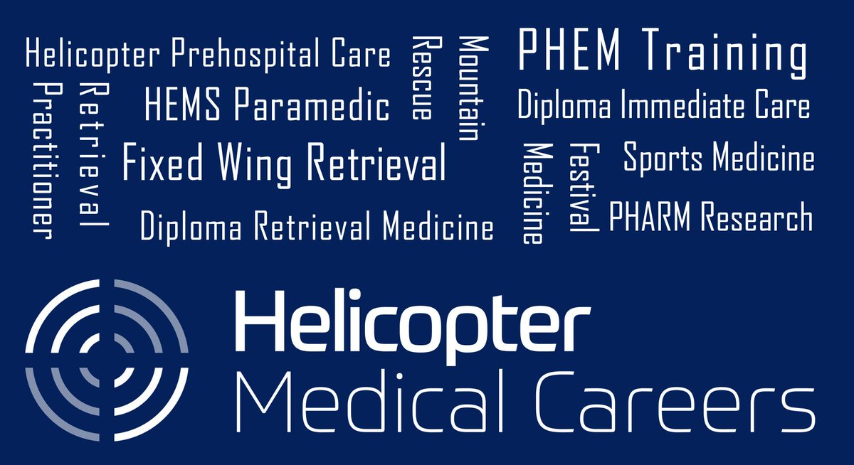 Join 250 fellow doctors, nurses & paramedics at the world's first Helicopter Medical Careers Conference.  Inspiration Advice Networking Aeromedical job opportunities  University of Glasgow 23rd March  https://corecognition.co.uk/hmcopening