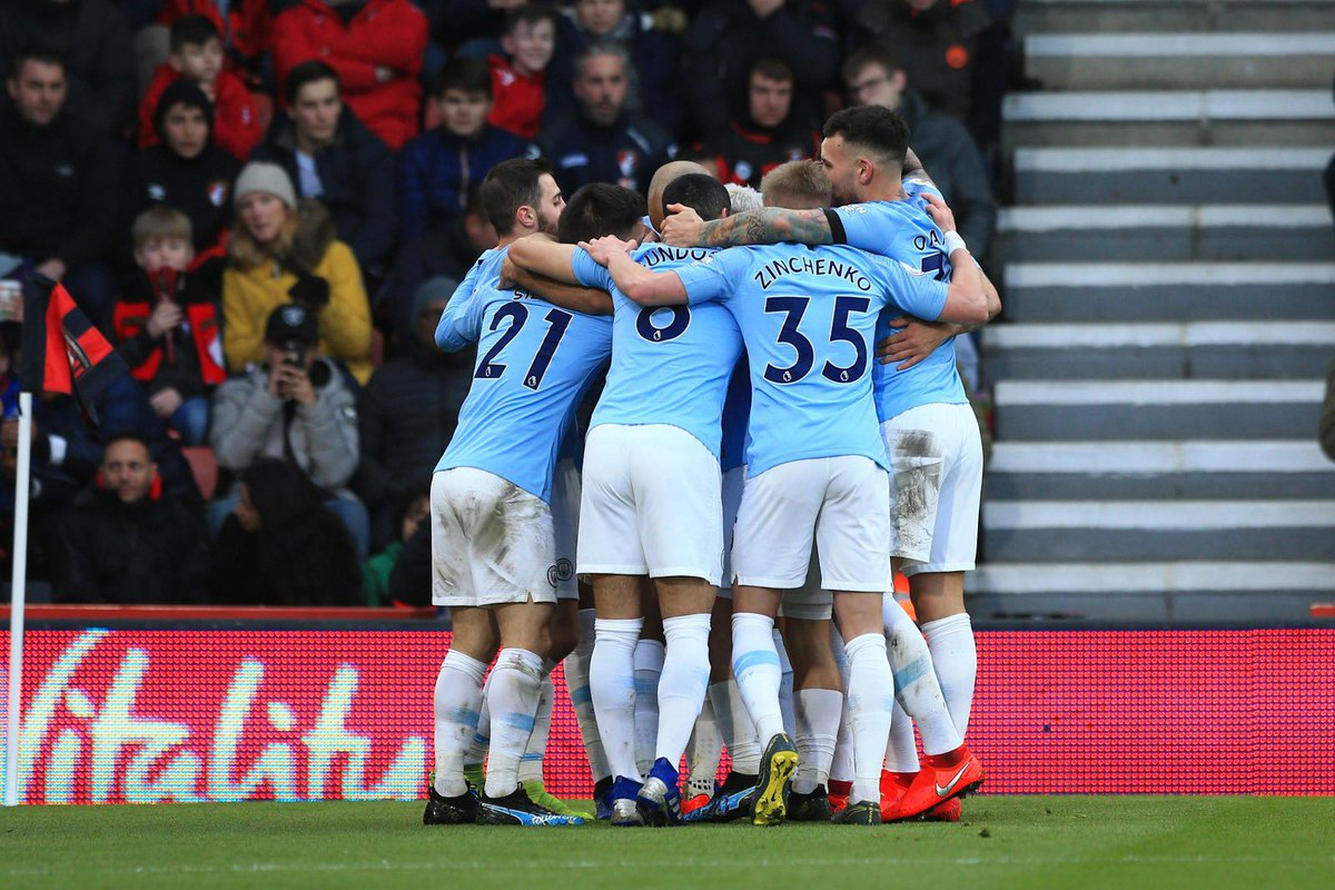 Excellent performance and win away from home. Team is looking strong as ever. #mancity #together